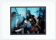Slash & Scott Ian Autograph Signed Photo